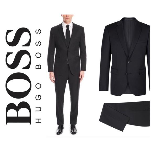 375f4d3cd8 Hugo Boss 100 Wool Italian Suit *Jacket*